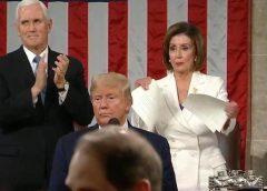 What Did Nancy Pelosi Rip-Up After the SOTU?